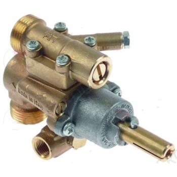 ROBINET GAZ TYPE 22N/O ENTREE GAZ M20X1.5