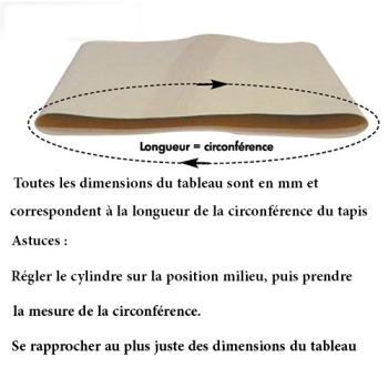 TAPIS LAMINOIRS-BANDES TRANSPORTEUSES RONDO