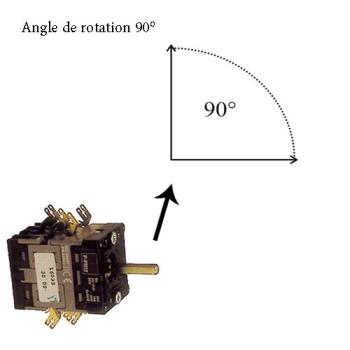 COMMUTATEUR-INVERSEUR-LAMINOIR-90°- BACO PR12/16093E.