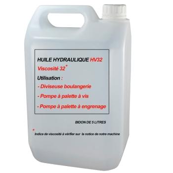 HUILE HYDRAULIQUE INDICE DE VISCOSITE HV32