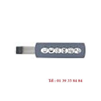 CLAVIER A MEMBRANE - BEZZERA - 131 mm