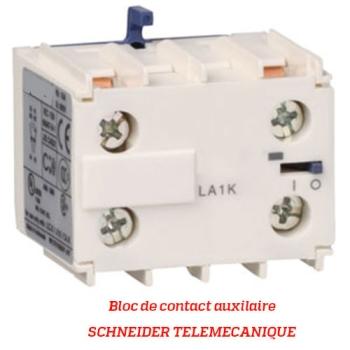 BLOC DE CONTACT AUXILIAIRE - SCHNEIDER TELEMECANIQUE - Type LA1K