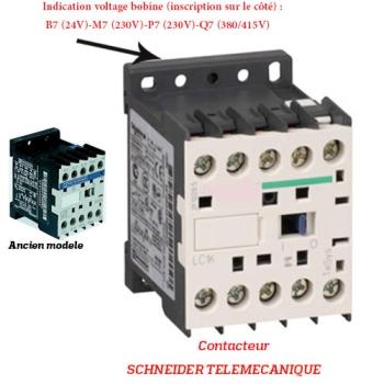 CONTACTEUR  - SCHNEIDER TELEMECANIQUE - Type LC1K - 6 AMPERES
