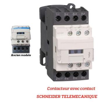 CONTACTEUR AVEC CONTACT - SCHNEIDER TELEMECANIQUE - Type LC1DT - 20 AMPERES