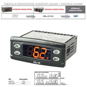 REGULATEUR ELIWELL-PC902TCJ-IC912TCJ
