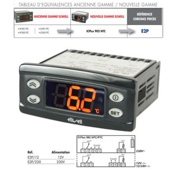 REGULATEUR ELIWELL-PC901-PC902-IC901-IC902