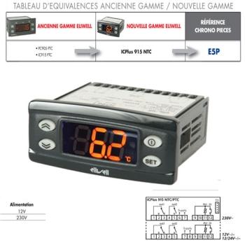 REGULATEUR ELIWELL-PC905PTC-IC915PTC