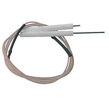 ELECTRODE D ALLUMAGE +SONDE+CABLE POUR CUENOD FC10G ET FC14G