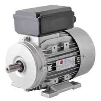 MOTEURS ELECTRIQUES MONOPHASES TYPE B3 1500T/MIN 4 PÔLES - 0.25 kW