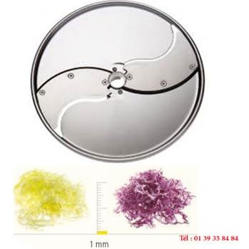 PLATEAU TRANCHEUR INOX - 1 MM - DITO SAMA - pour coupe-légumes TRK - TRS - TR210