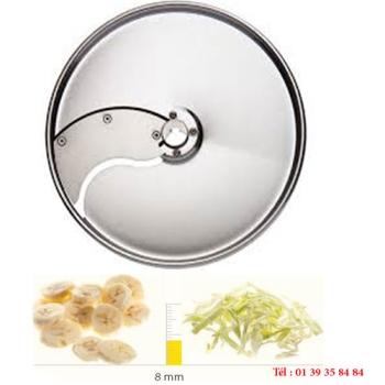 PLATEAU TRANCHEUR INOX - 8 MM - DITO SAMA - pour coupe-légumes TRK - TRS - TR210