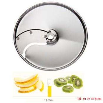 PLATEAU TRANCHEUR INOX - 12 MM - DITO SAMA - pour coupe-légumes TRK - TRS - TR210