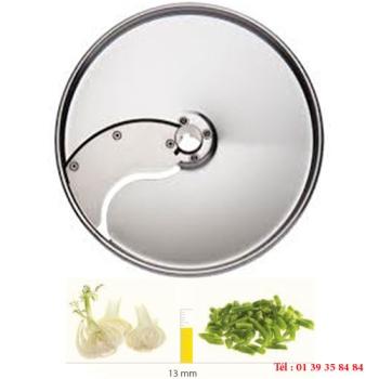 PLATEAU TRANCHEUR INOX - 13 MM - DITO SAMA - pour coupe-légumes TRK - TRS - TR210