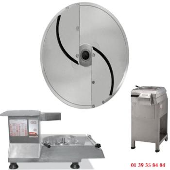 PLATEAU TRANCHEUR INOX - 3 MM - DITO SAMA - pour coupe-légumes TR260 et TR300