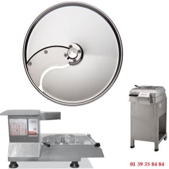 PLATEAU TRANCHEUR INOX - 6 MM - DITO SAMA - pour coupe-légumes TR260 et TR300
