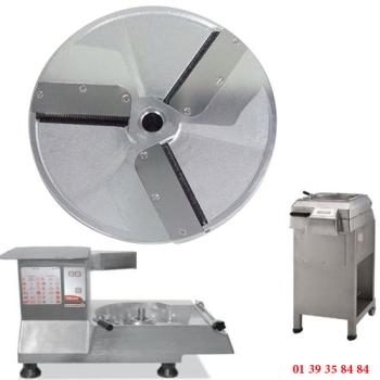 PLATEAU EFFILEUR INOX - 10x10 MM - DITO SAMA - pour coupe-légumes TR260 et TR300