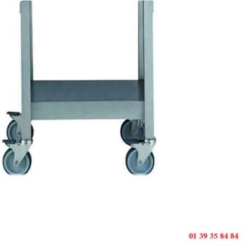 TABLE INOX ROULANTE - DITO SAMA - pour cutters mélangeurs émulsionneurs série K et KE