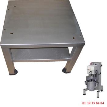 TABLE INOX POUR BATTEUR  MELANGEUR 20 L - DITO SAMA - XBE20-XBM20