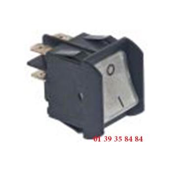 INTERRUPTEUR A BASCULE - OMAS -  28X22 MM