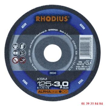 DISQUES A TRONCONNER LES METAUX - RHODIUS