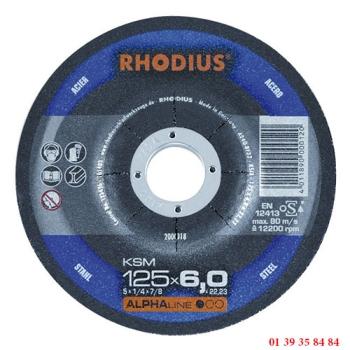 MEULES A EBARBER LES METAUX - RHODIUS