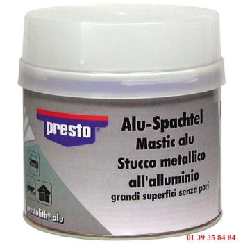 MASTIC DE REBOUCHAGE ALU - PRESTO