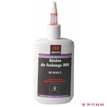 RESINE DE FREINAGE - GEB