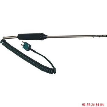 SONDE D'AMBIANCE THERMOCOUPLE K - Longueur 150 mm - Ø 5 mm