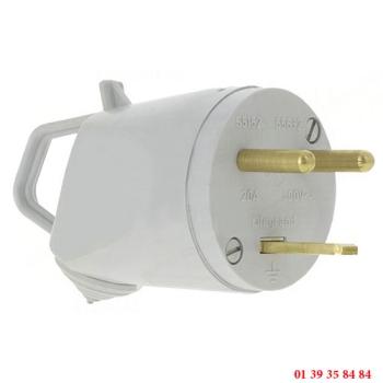 FICHE PLASTIQUE - LEGRAND 2P + T 20A - 400V