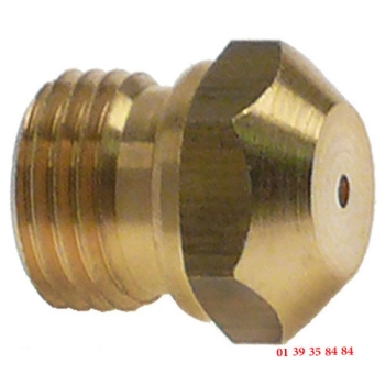 INJECTEUR GAZ - WHIRLPOOL - Ø trou 1.15 mm