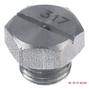 INJECTEUR DE RINCAGE - COMENDA - hauteur 11 mm
