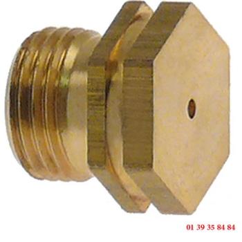 INJECTEUR GAZ - AMBACH - Ø trou 0.95 mm