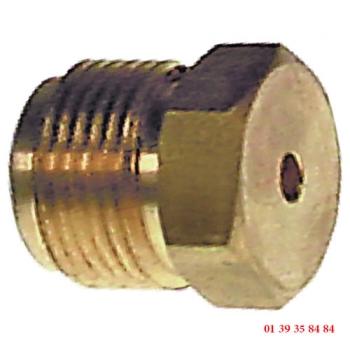 INJECTEUR GAZ - ROSINOX - Ø trou 1.85 mm
