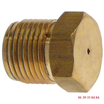 INJECTEUR GAZ - EMMEPI -  Ø trou 1.3 mm