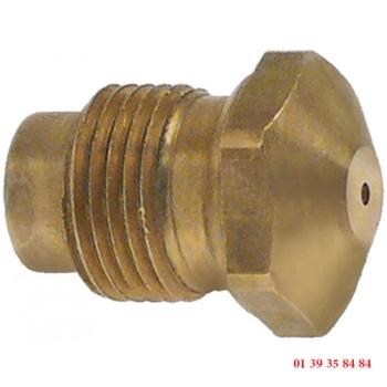 INJECTEUR GAZ - ASCOBLOC - Ø trou 0.85 mm
