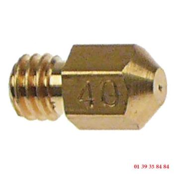 INJECTEUR VEILLEUSE - ROSINOX - Ø trou 0.4 mm