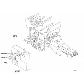 BOUTON MOLETE B259/20 P PANIRECORD